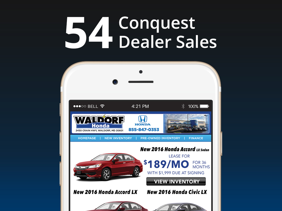 Waldorf honda conquest automotive for Honda dealership waldorf md